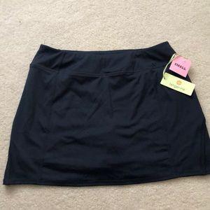 Tangerine athletic skirt Navy Blue